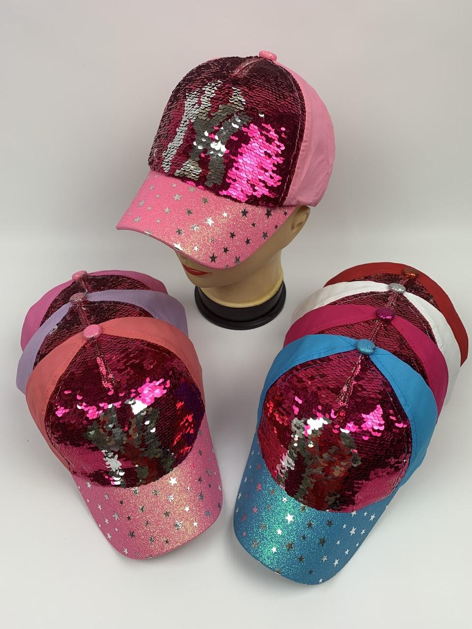 Детские кепки для девочек оптом, р.54 (ktс2820)