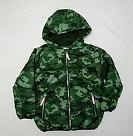 """Куртка зимняя, детская """"Crafted"""" на мальчика 7-8 лет"""