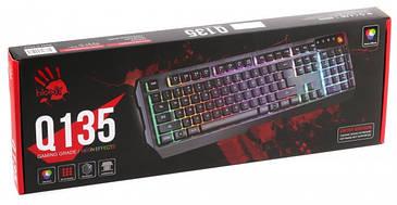 Клавіатура A4Tech Q135 Bloody (Black)