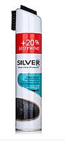 Спрей Silver для нубука и замши, Чёрный,коричневый  ,темно синий и бесцветный  (300мл.)