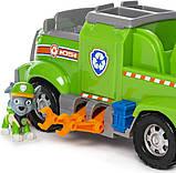 Paw Patrol Щенячий патруль спасательная машина Рокки и 6 фигурок 6054871 Rocky s Total Team Rescue, фото 5