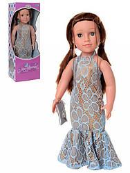 Детская интерактивная кукла LimoToy Ника поет песни, рассказывает стихи, 48 см.
