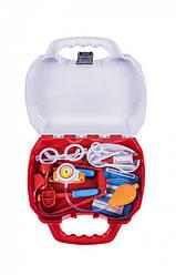 Детский игрушечный набор юного доктора Orionв чемодане, 12 предметов