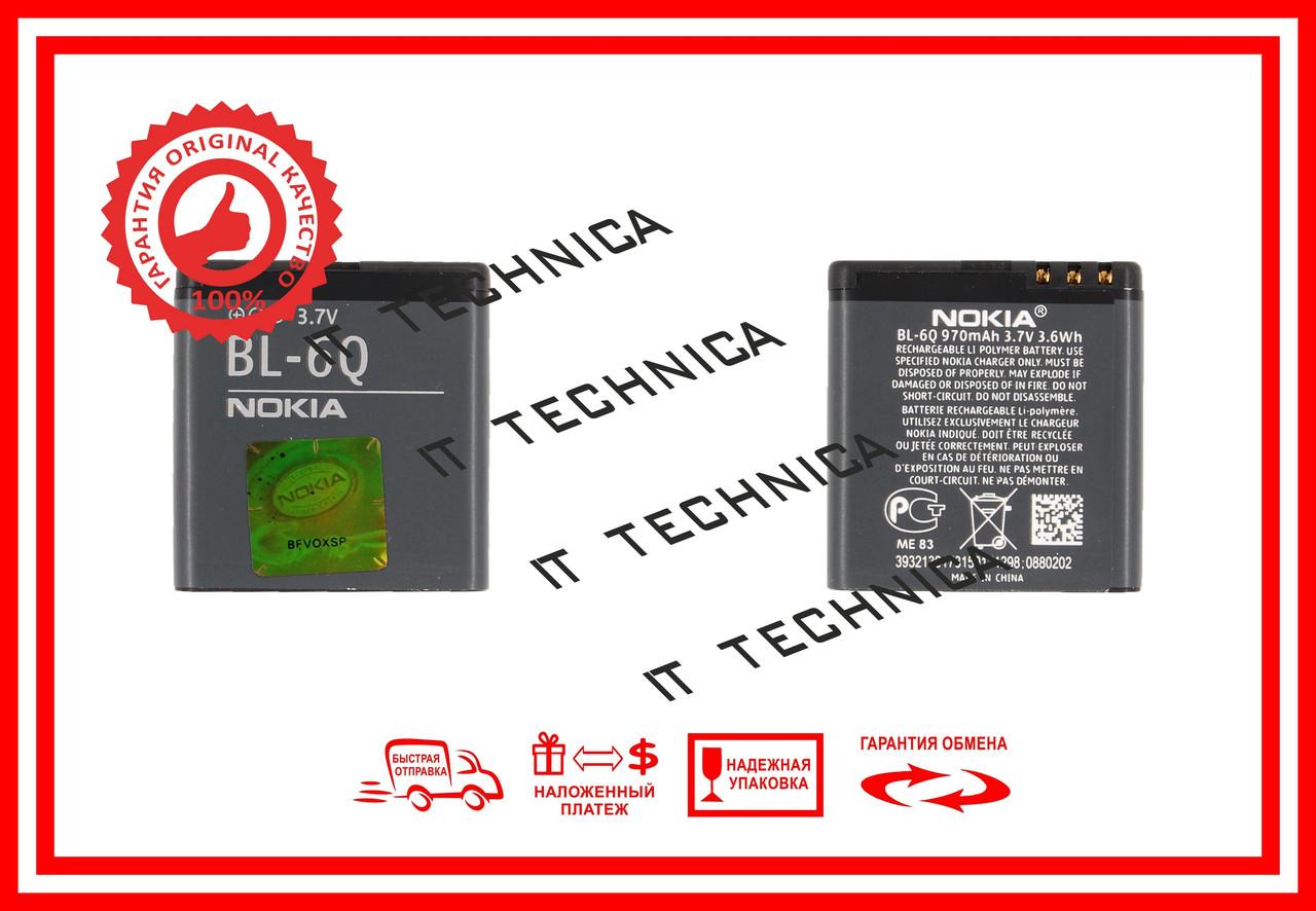Батарея NOKIA 6700 classic gold edition Li-ion 3.7V 970mAh ОРИГІНАЛ
