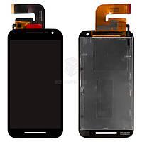 Дисплей для Motorola Moto G3 3nd Gen (XT1540, XT1541, XT1544, XT1548, XT1550) Оригинал Черный с сенсором