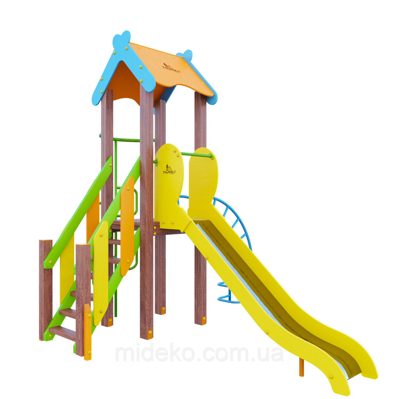 """Ігровий комплекс """"Поллі"""" MIDEKO 120"""