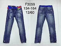 Джинсовые брюки для мальчиков F&D 134-164 р.р.