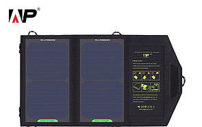 Туристическая портативная солнечная батарея ALLPOWERS 5V 10W (переносная) солнечная панель.