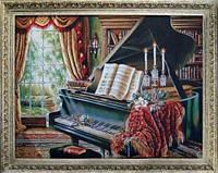 """Гобеленовая картина """"Рояль"""" 472Д-6"""