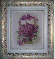 """Гобеленовая картина """"Подарок маме сирень"""" 699Д-1А + П"""