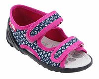 Тапочки-босоножки   для девочек Renbut 24 (15,5 см), фото 1