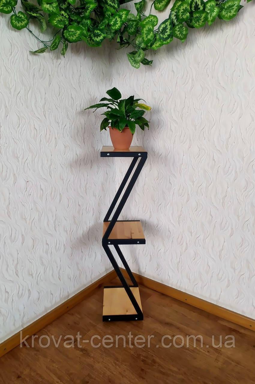 Подставка под цветы и декор в стиле Loft 1000 (Z)