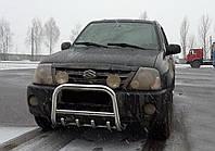 Защита переднего бампера (кенгурятник)  Suzuki Grand Vitara XL-7 (03-06)