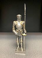 "Фигурка, миниатюра оловянная Veronese ""Рыцарь с копьем"" WS-807"