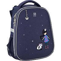 Рюкзак школьный каркасный Kite Education Gorgeous Принцесса котик K20-531M-4