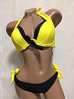 Купальник женский раздельный sisianna 66230 желтый, фото 1