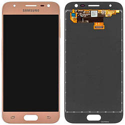 LCD Samsung J730H/J7-2017 + touch Gold Copy