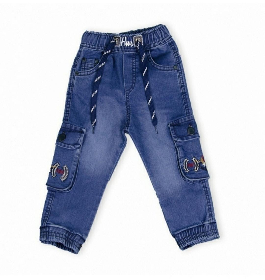 Джинсы для мальчиков 1-5 лет Hiwro
