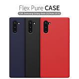 Nillkin Samsung Galaxy Note 10 Flex Pure Case Red Силиконовый Чехол, фото 4