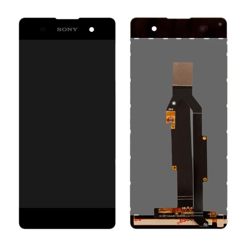 Дисплей и сенсор (модуль) на Sony Xperia XA (F3112) черный