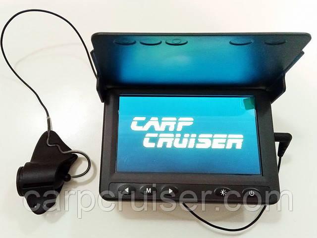 Подводная камера для рыбалки CARPCRUISER СC43-PRO-HD яркость экрана 250кд/м2 высокая чувств камеры 0,01Lux