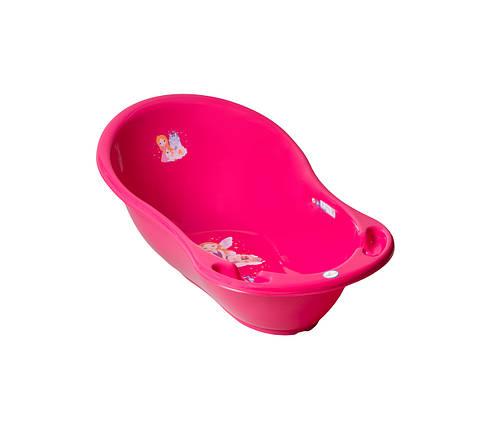 """Ванночка TEGA """"Принцеса"""", з термометром, рожева, LP-004-123, фото 2"""