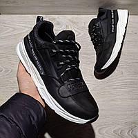 Philipp PLein мужские кожаные кроссовки (кеды) мужская обувь,  натуральная кожа