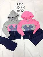 Спортивный костюм 2 в 1 для девочек оптом, F&D, 110-140 см, № 9616, фото 1