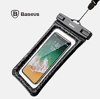 Водонепроницаемый чехол для телефона Baseus Waterproof Air cushion (черный)
