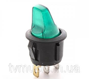 Выключатель с подсветкой RS PB-006 G