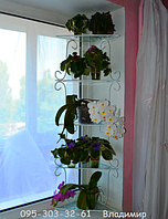"""Подставка для цветов на 5 полок, стеллаж оконный """"Яна-1"""", фото 1"""