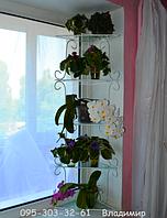 """Стеллаж оконный """"Яна-1"""", подставка для цветов на 5 чаш, фото 1"""