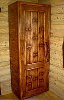 Деревянный шкаф под старину