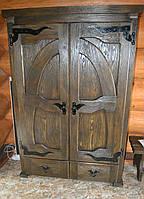 Шкаф с ковкой под старину
