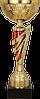 Кубок  7155, золотистый'-красный