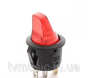 Выключатель с подсветкой RS PB-006 R