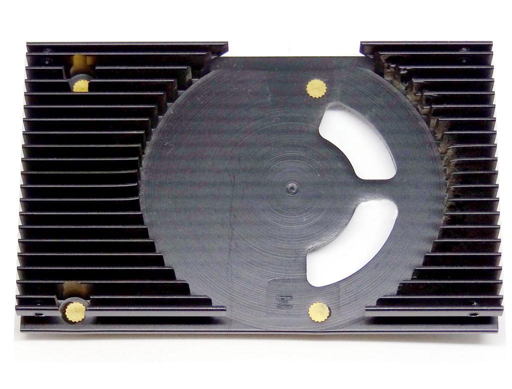 Радіатор алюмінієвий для відеокарти 85мм x 53мм