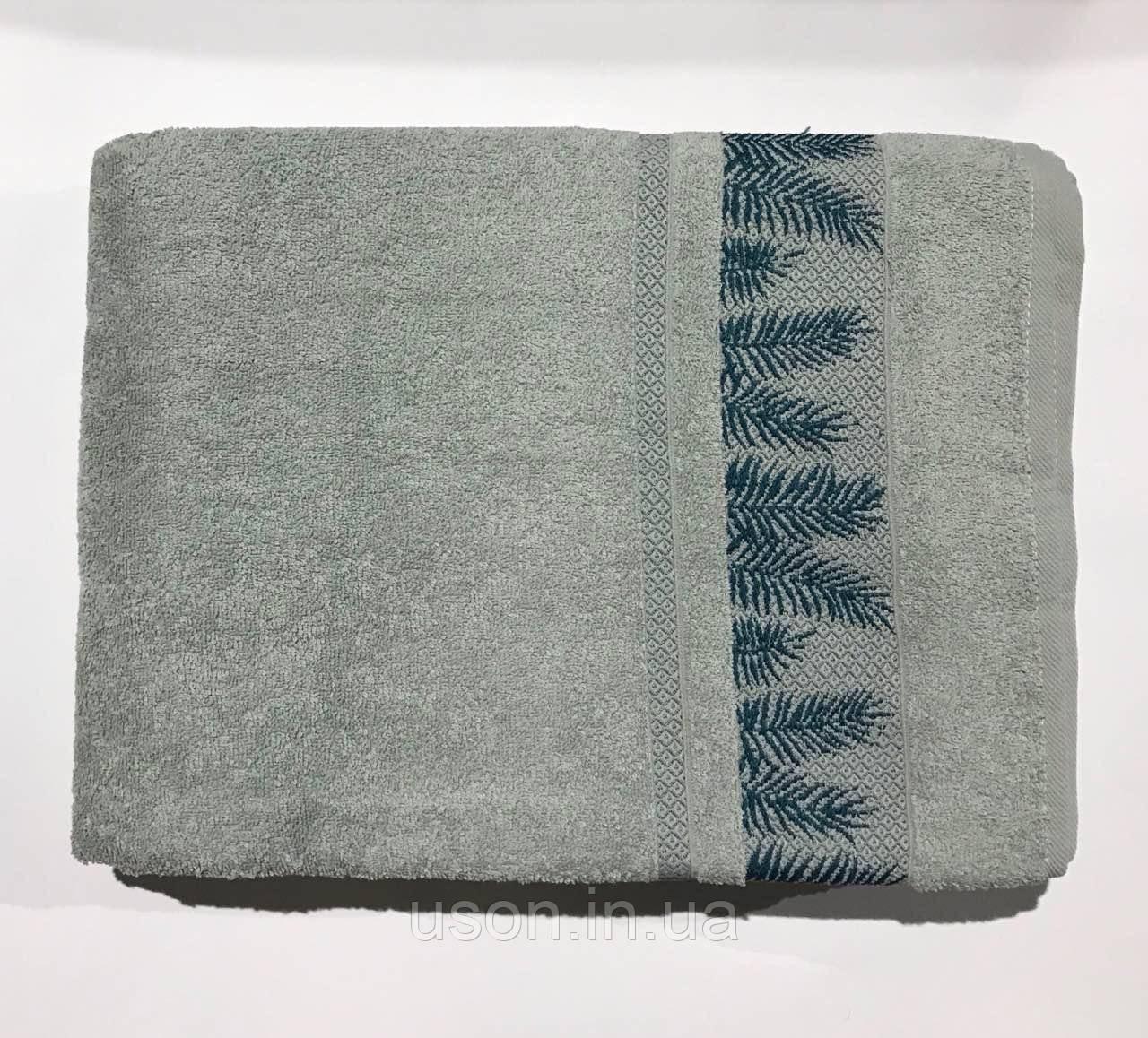 Махровая простынь - Пике Sikel махра  200*220 см Cotton mint