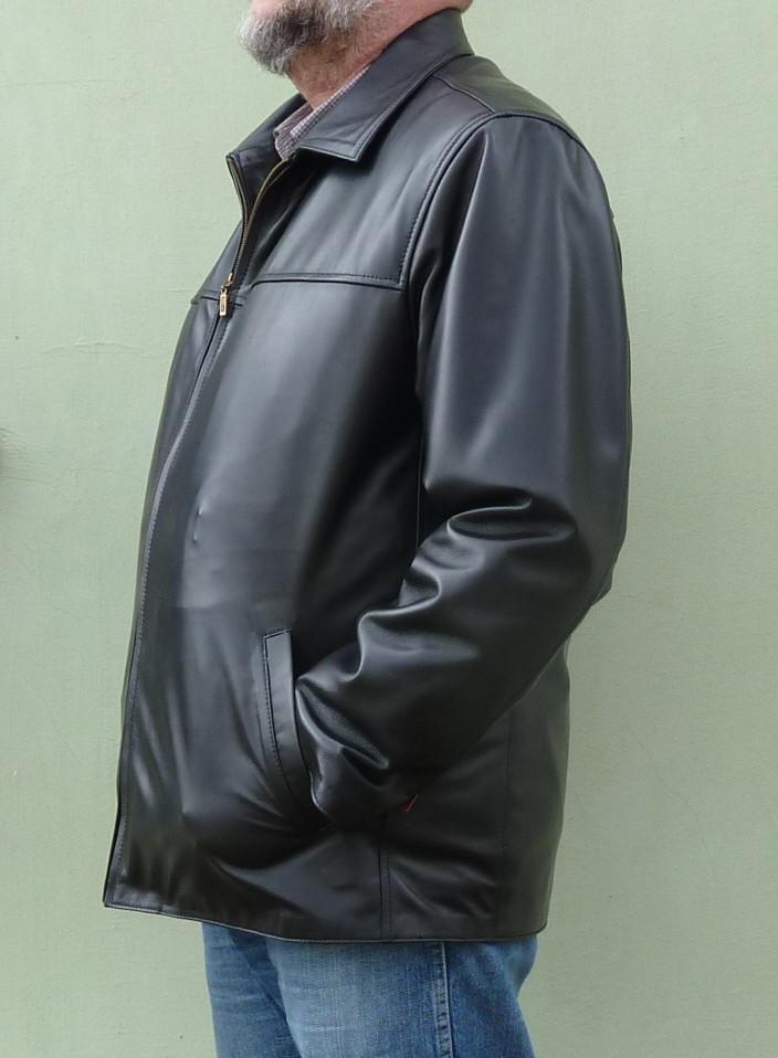 Мужская куртка Eleganza из натуральной кожи. Модель TONY+ размер M