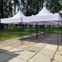 Шатер раздвижной 3х3, палатка торговая гармошка., фото 1