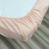 Простынь детская персиковая, фото 4