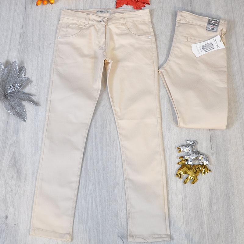 Летние коттоновые брюки для девочки от 9-12 лет (4 ед. в уп.)