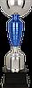 Кубок 7192, серебристо'-синий