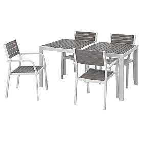 IKEA Комплект мебели садовой SJÄLLAND (292.650.14)