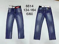 Джинсы для мальчиков оптом, F&D, 134-164 см,  № 6614