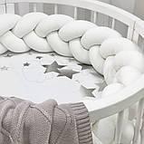 Простынь детская с печатью Созвездие, фото 5