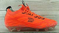 Бутсы футбольные Restime оранжевые (41-45) BS167
