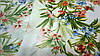 Ткань белый штапель цветочный принт, фото 6