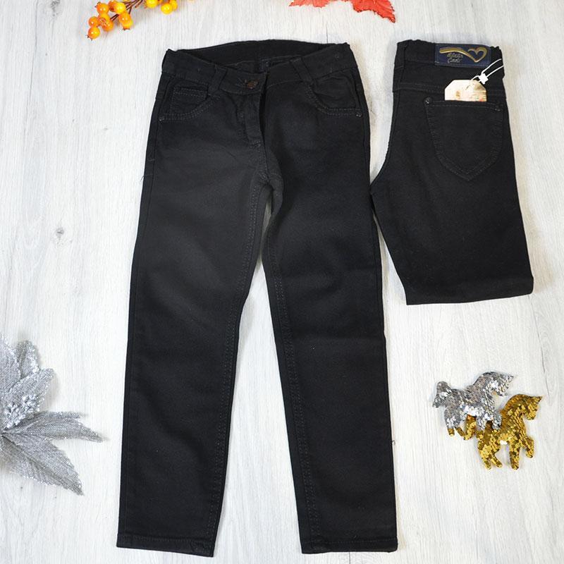 Весенние детские брюки (100% коттон) для девочек 5-8 лет (4 ед в уп)