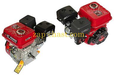 Двигатель м/б   168F   (6,5Hp)   (полный комплект) (вал Ø 20мм, под шестерни)   DAOTONG